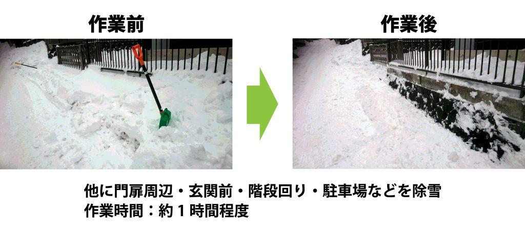 雪かき 除雪 格安 盛岡市